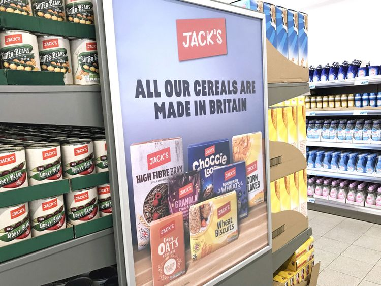 Where Aldi and Lidl go high, Tesco is going low.